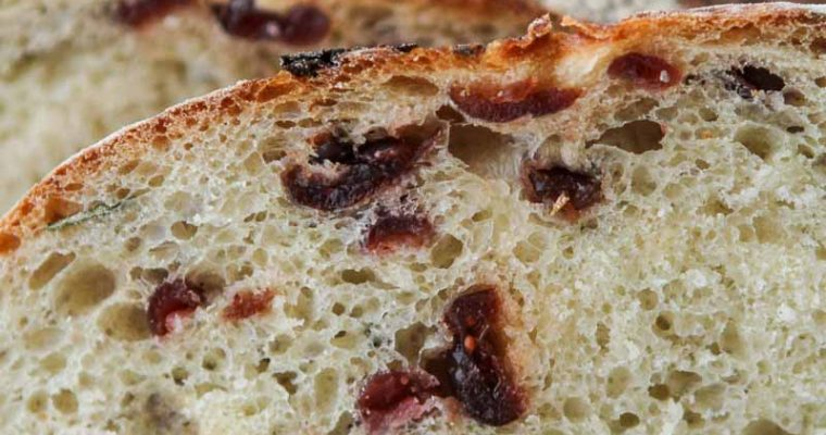 Cranberry and Rosemary Bread