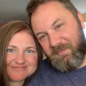 Profile photograph of blog author and husband.