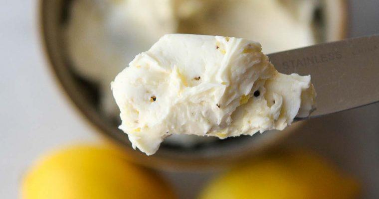 Lemon Pepper Butter